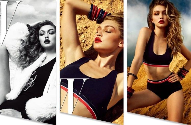 Gigi Hadid On W Magazine