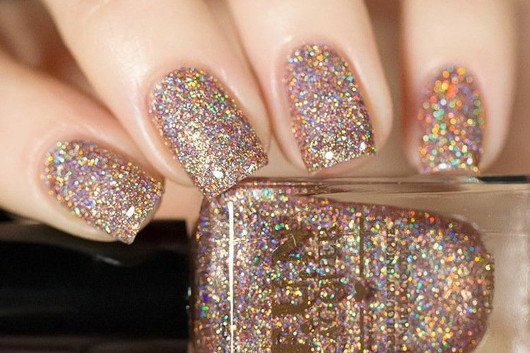 High Drama Glitter Nail Polish For Party Fever