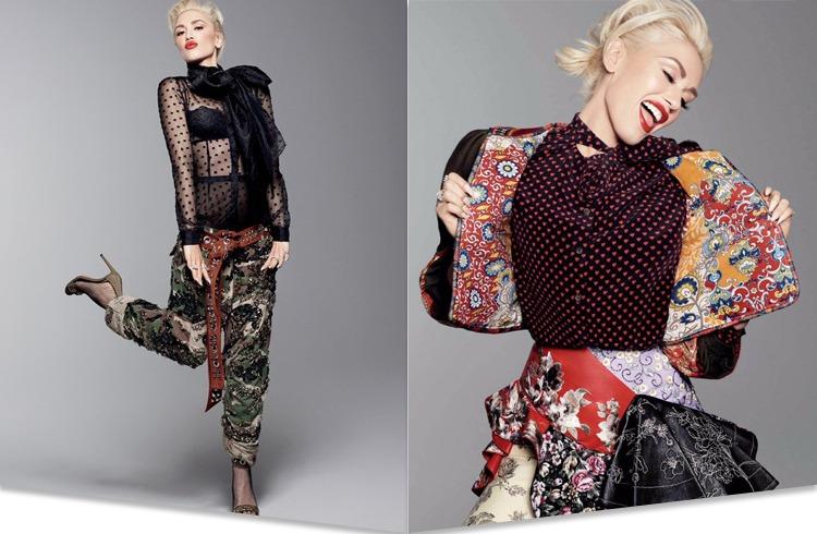 Gwen Stefani On Glamour