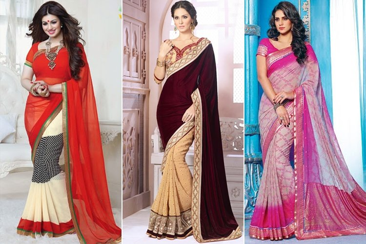 How To Wear Saree To Look Slim.