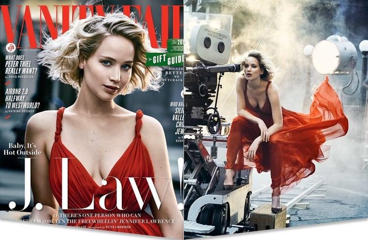 Jennifer Lawrence on Vanity Fair