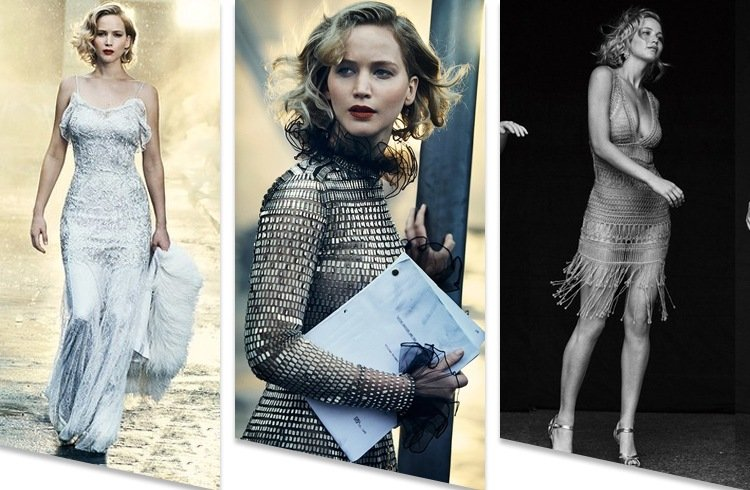 Jennifer Lawrence Photoshoot On Vanity Fair