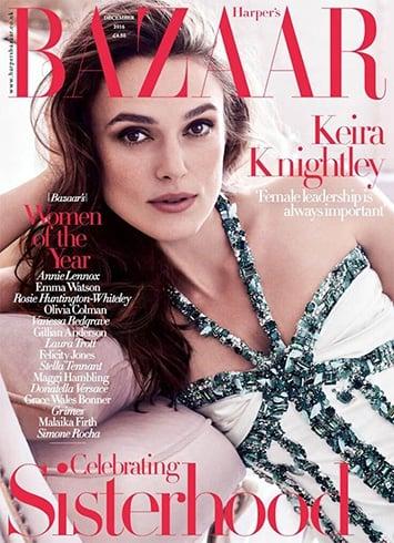 Keira Knightley On Harper's Bazaar UK