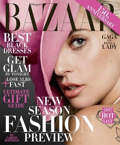 Lady Gaga On Harper's Bazaar