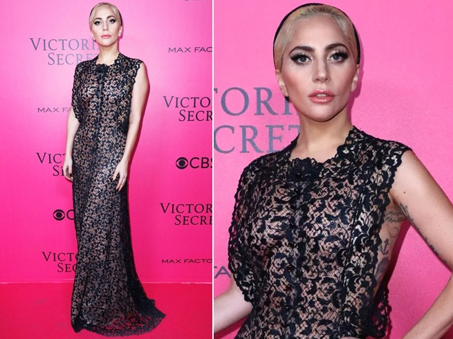 Lady |Gagas Outfits at Victorias Secret