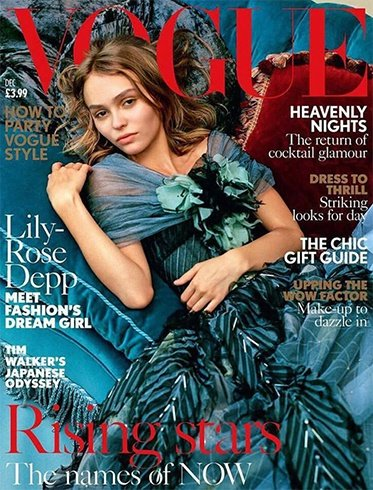 Lily Rose Depp On Vogue
