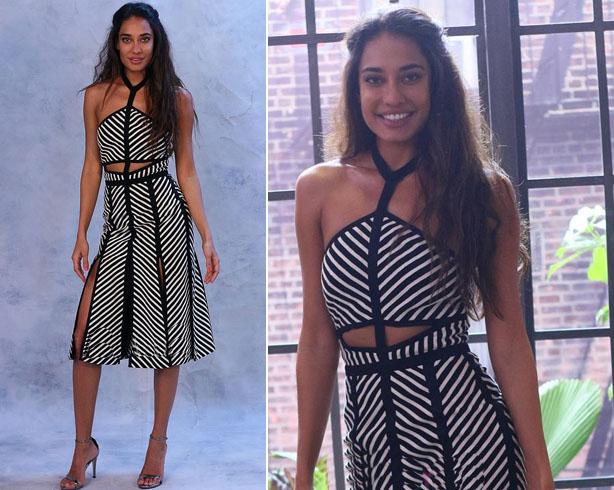 Lisa Haydon Monochrome Fashion