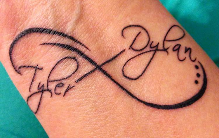 Name Tattoo Designs On Wrist