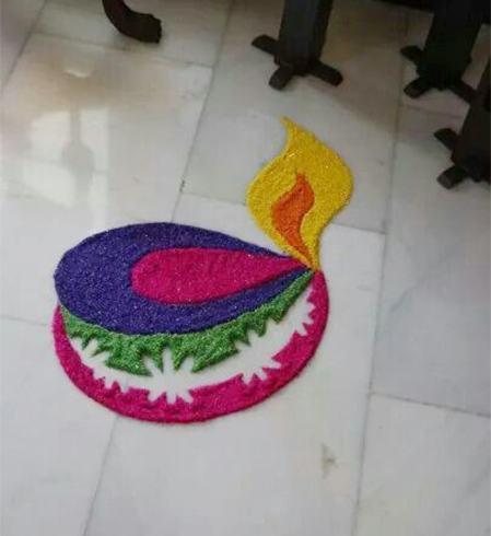 New Year Rangoli Patterns