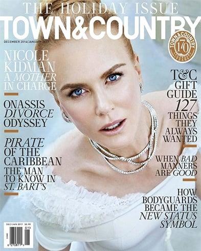 Nicole Kidman On Town & Country