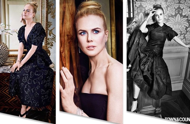 Nicole Kidman On Town andCountry