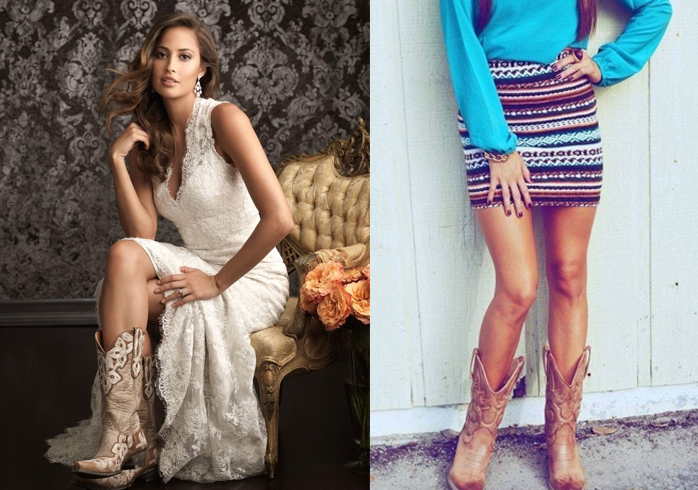 Outfits with cowgirl boots