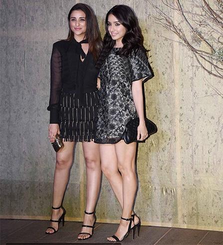 Parineeti and Shraddha Kapoor