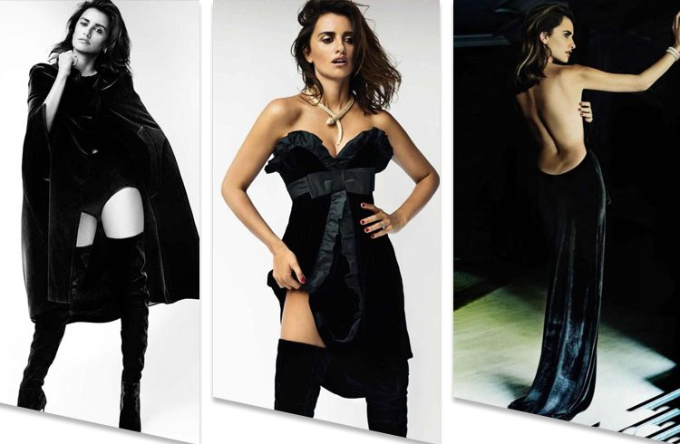 Penelope Cruz On Vogue Magazine