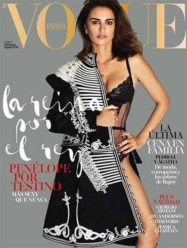 Penelope Cruz On Vogue