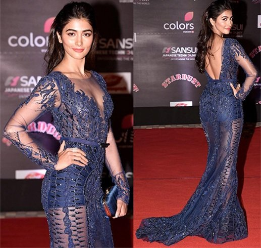 Pooja Hegde at stardust awards 2016