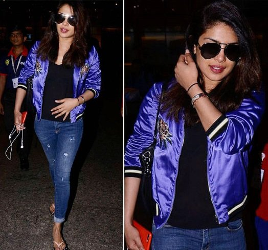 Priyanka Chopra Airport Fashion