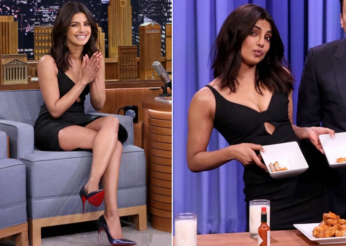 Priyanka Chopra at Jimmy Fallon Show