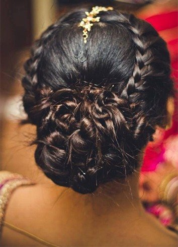 Punjabi Hairstyle For Girl
