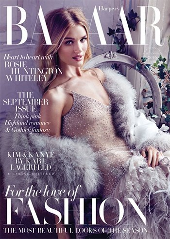 Rosie Huntington Whiteley Magazine Coveres