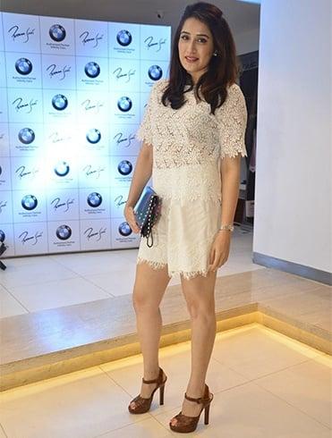 Sagarika Ghatge at BMW Launch