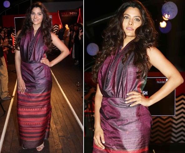 Saiyami Kher at Vogue Fashion Fund