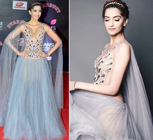 Sonam Kapoor at Stardust Awards 2016