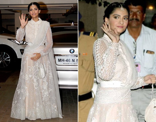 Sonam Kapoor at William and Kate Party