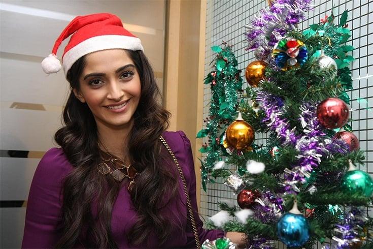 Sonam Kapoor Christmas Style