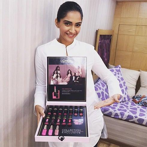 Sonam Kapoor Makeup Kits