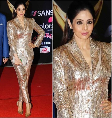 Sridevi at Stardust Awards 2016