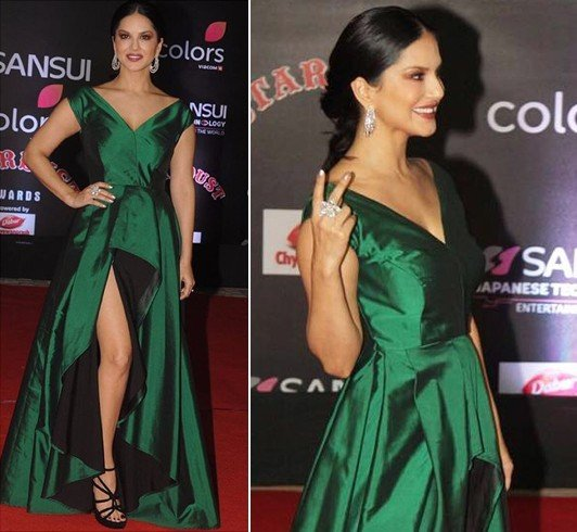 Sunny Leone at Stardust Awards 2016