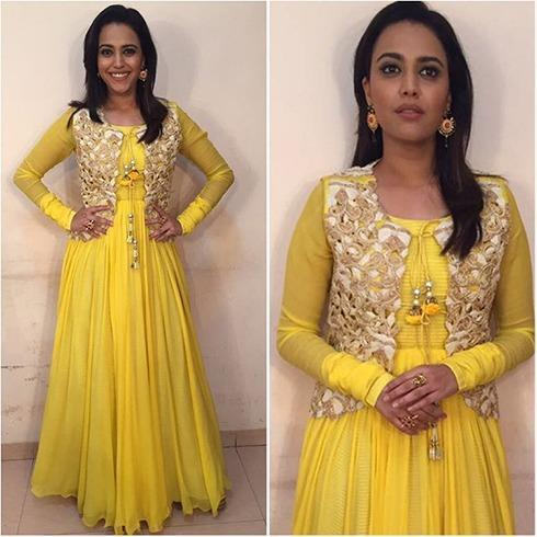 Swara Bhaskar Hairstyle