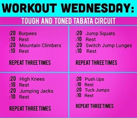 Tabata Workouts For Beginners