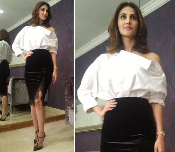 Vaani Kapoor Monochrome Fashion