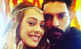 Yuvraj and Hazel Wedding