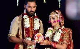 Yuvraj Singh Weds Hazel Keechs