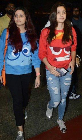 Alia & Shaheen Bhatt