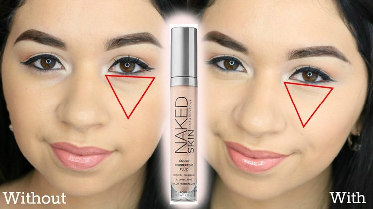 Color corrector makeup