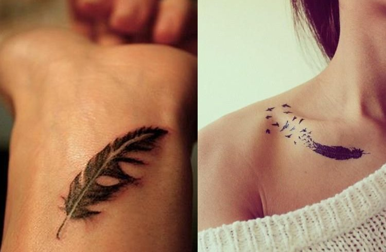 Feather tattoo which one should you get for Should you get a tattoo