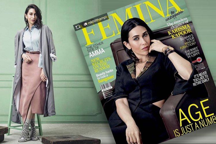 Femina Captivates Us With Karisma Kapoor