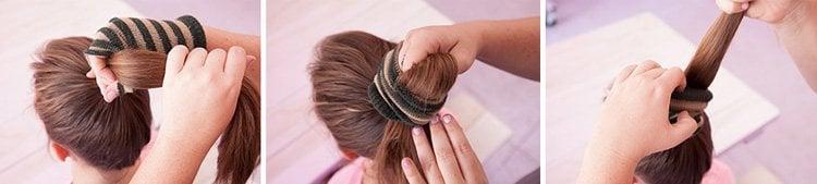 How to do a sock bun for women