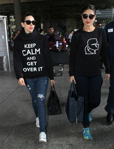 Karishma Kapoor & Kareena Kapoor