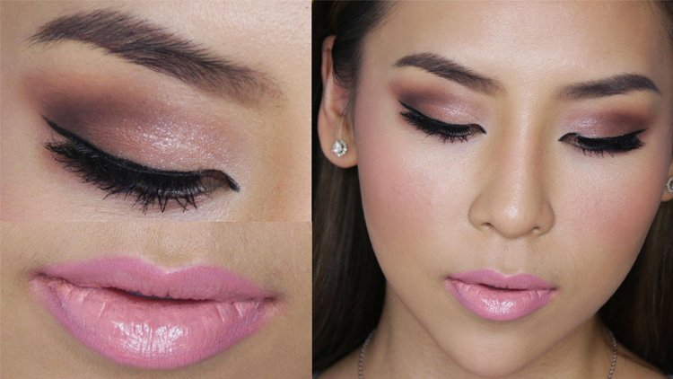 How To Wear Makeup With Pink Dress