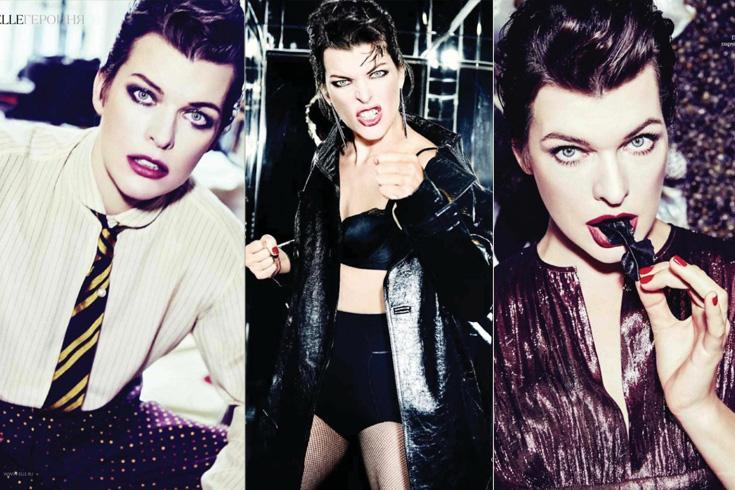 Milla Jovovich Fashion