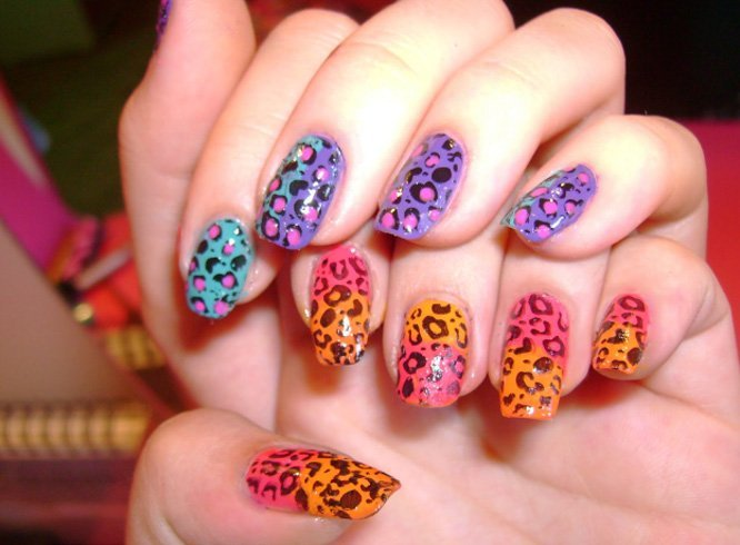 Natural cheetah colors
