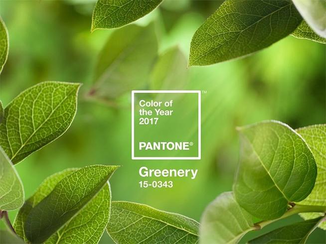 Pantone Grenery