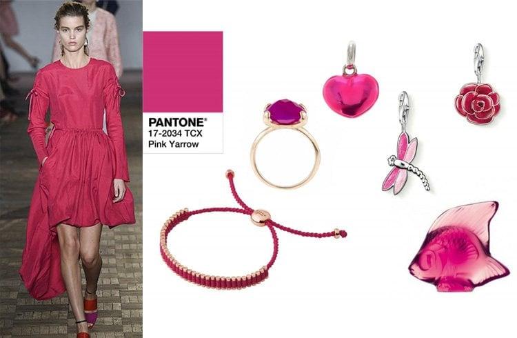 Pink Yarrow 17-2034