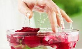 Rose water for skin for women