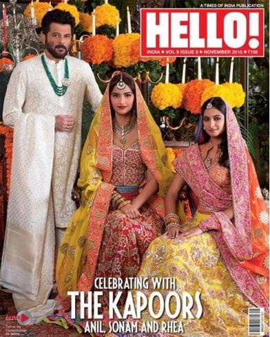 Sonam Kapoor & Rhea Kapoor Traditional Beauties